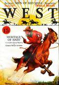 West (1926-1953 Doubleday) Pulp Vol. 3 #1