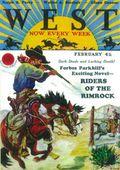 West (1926-1953 Doubleday) Pulp Vol. 11 #5