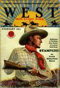 West (1926-1953 Doubleday) Pulp Vol. 12 #1