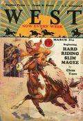 West (1926-1953 Doubleday) Pulp Vol. 13 #1