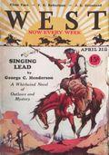 West (1926-1953 Doubleday) Pulp Vol. 13 #4