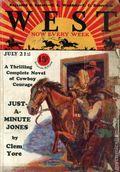 West (1926-1953 Doubleday) Pulp Vol. 16 #1