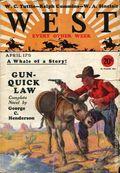 West (1926-1953 Doubleday) Pulp Vol. 20 #2