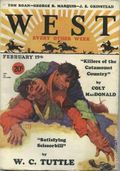 West (1926-1953 Doubleday) Pulp Vol. 23 #6