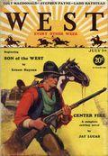 West (1926-1953 Doubleday) Pulp Vol. 25 #4