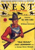 West (1926-1953 Doubleday) Pulp Vol. 25 #6