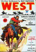 West (1926-1953 Doubleday) Pulp Vol. 37 #6
