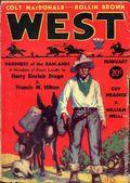 West (1926-1953 Doubleday) Pulp Vol. 38 #1