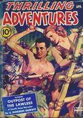 Thrilling Adventures (1931-1943 Standard) Pulp Vol. 37 #2A