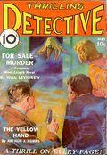 Thrilling Detective (1931-1953 Standard) Pulp Vol. 2 #3