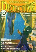 Thrilling Detective (1931-1953 Standard) Pulp Vol. 5 #1