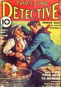 Thrilling Detective (1931-1953 Standard) Pulp Vol. 9 #1