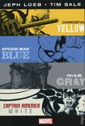 Jeph Loeb and Tim Sale: Yellow, Blue, Gray and White Omnibus HC (2018 Marvel) 1-1ST