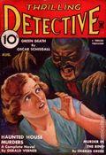 Thrilling Detective (1931-1953 Standard) Pulp Vol. 15 #3