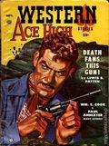 Western Ace High Stories (1953-1954 Popular Publications) Pulp Vol. 2 #2