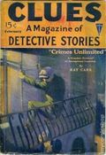 Clues Detective Stories (1926-1943 Clayton Magazines) Pulp Vol. 2 #2