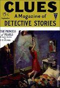 Clues Detective Stories (1926-1943 Clayton Magazines) Pulp Vol. 4 #1