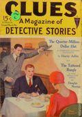 Clues Detective Stories (1926-1943 Clayton Magazines) Pulp Vol. 6 #1