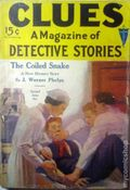 Clues Detective Stories (1926-1943 Clayton Magazines) Pulp Vol. 7 #3