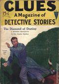 Clues Detective Stories (1926-1943 Clayton Magazines) Pulp Vol. 8 #1