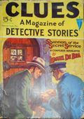 Clues Detective Stories (1926-1943 Clayton Magazines) Pulp Vol. 9 #1