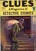 Clues Detective Stories (1926-1943 Clayton Magazines) Pulp Vol. 10 #3