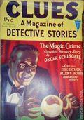 Clues Detective Stories (1926-1943 Clayton Magazines) Pulp Vol. 13 #1