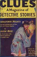 Clues Detective Stories (1926-1943 Clayton Magazines) Pulp Vol. 14 #2