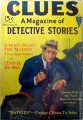 Clues Detective Stories (1926-1943 Clayton Magazines) Pulp Vol. 15 #1