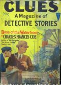 Clues Detective Stories (1926-1943 Clayton Magazines) Pulp Vol. 15 #2