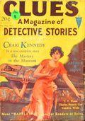 Clues Detective Stories (1926-1943 Clayton Magazines) Pulp Vol. 15 #4