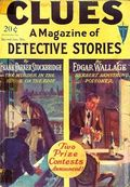 Clues Detective Stories (1926-1943 Clayton Magazines) Pulp Vol. 17 #1