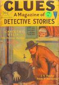 Clues Detective Stories (1926-1943 Clayton Magazines) Pulp Vol. 18 #1