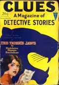 Clues Detective Stories (1926-1943 Clayton Magazines) Pulp Vol. 19 #1