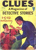 Clues Detective Stories (1926-1943 Clayton Magazines) Pulp Vol. 21 #1