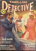 Thrilling Detective (1931-1953 Standard) Pulp Vol. 40 #1