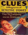 Clues Detective Stories (1926-1943 Clayton Magazines) Pulp Vol. 22 #1