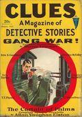 Clues Detective Stories (1926-1943 Clayton Magazines) Pulp Vol. 25 #4