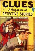 Clues Detective Stories (1926-1943 Clayton Magazines) Pulp Vol. 26 #1