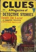 Clues Detective Stories (1926-1943 Clayton Magazines) Pulp Vol. 26 #4