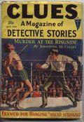 Clues Detective Stories (1926-1943 Clayton Magazines) Pulp Vol. 27 #4