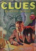 Clues Detective Stories (1926-1943 Clayton Magazines) Pulp Vol. 31 #1