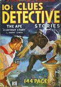 Clues Detective Stories (1926-1943 Clayton Magazines) Pulp Vol. 33 #6