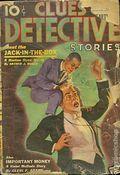 Clues Detective Stories (1926-1943 Clayton Magazines) Pulp Vol. 37 #1