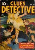 Clues Detective Stories (1926-1943 Clayton Magazines) Pulp Vol. 38 #1