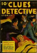 Clues Detective Stories (1926-1943 Clayton Magazines) Pulp Vol. 38 #5