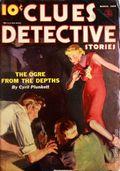 Clues Detective Stories (1926-1943 Clayton Magazines) Pulp Vol. 39 #4
