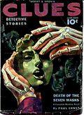 Clues Detective Stories (1926-1943 Clayton Magazines) Pulp Vol. 42 #1