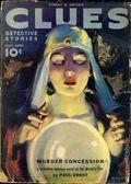 Clues Detective Stories (1926-1943 Clayton Magazines) Pulp Vol. 42 #2
