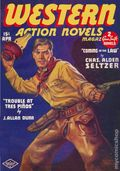 Western Action Novels Magazine (1936-1960 Columbia) 1st Series Pulp Vol. 3 #2